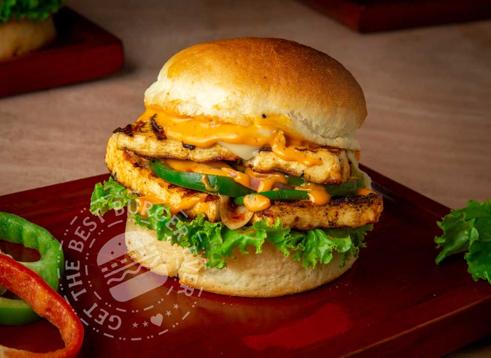 Double Casual Paneer Burger